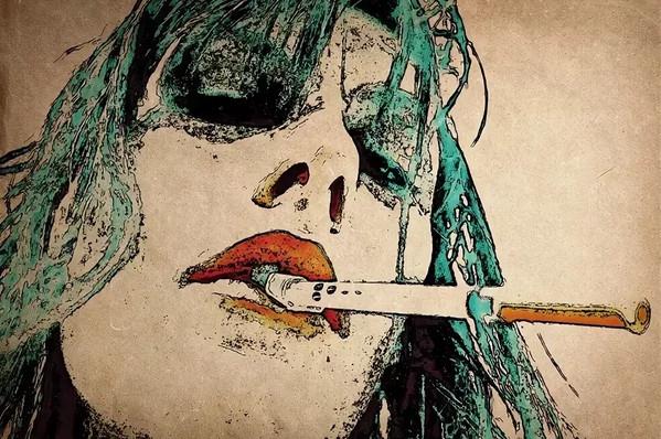 Стихотворная наркоманка