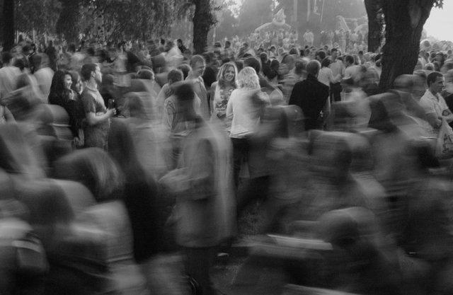 Лицо среди толпы